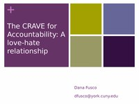 The Crave for Accountability: A Love-Hate Relationship