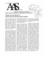 AAS Newsletter No. 2