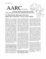 AAS Newsletter No. 3