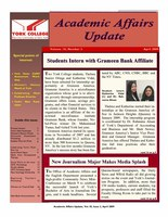 On Academic Affairs Update April 2009