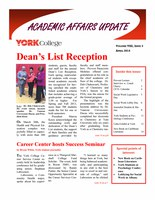 On Academic Affairs Update April 2014