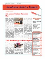 On Academic Affairs Update May 2012