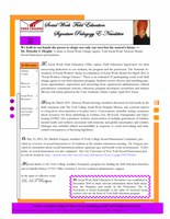 Signature Pedagogy E-Newsletter - Spring 2011