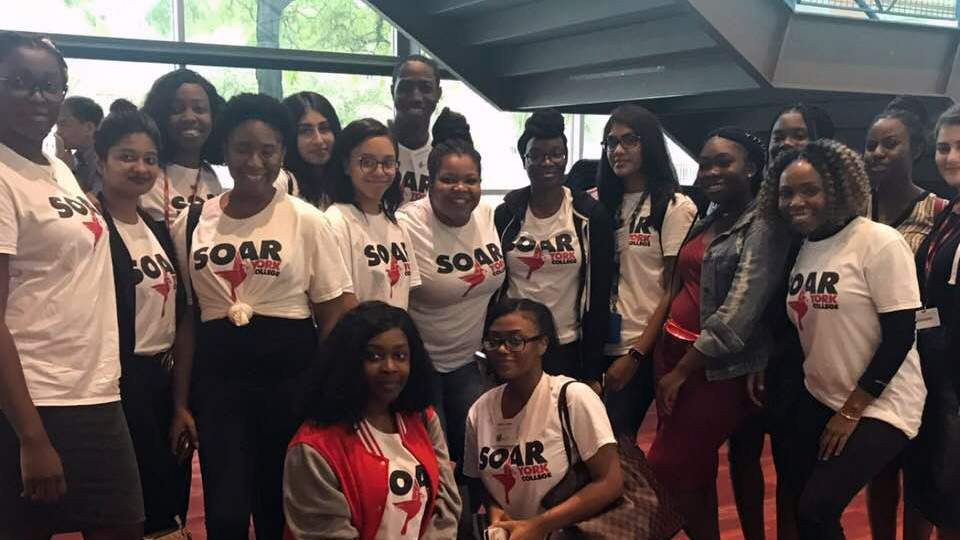 NESS 100 Peer Leaders at Fall 2018 Convocation