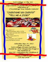 """Cuentame un Cuento """"Tell me a story"""""""
