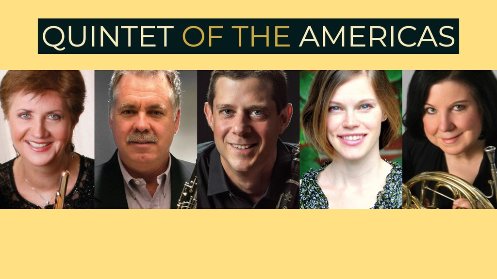 The Quintet of the Americas perform a special lunch time concert at York College on Tuesday 4/2 at 12:30pm.