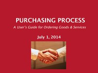 Purchasing Process - Overview Presentation