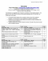 Community Health Education (BS)
