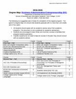 Business Administration-Entrepreneurship (BS)