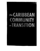 Conceptual Approach to Caribbean Security