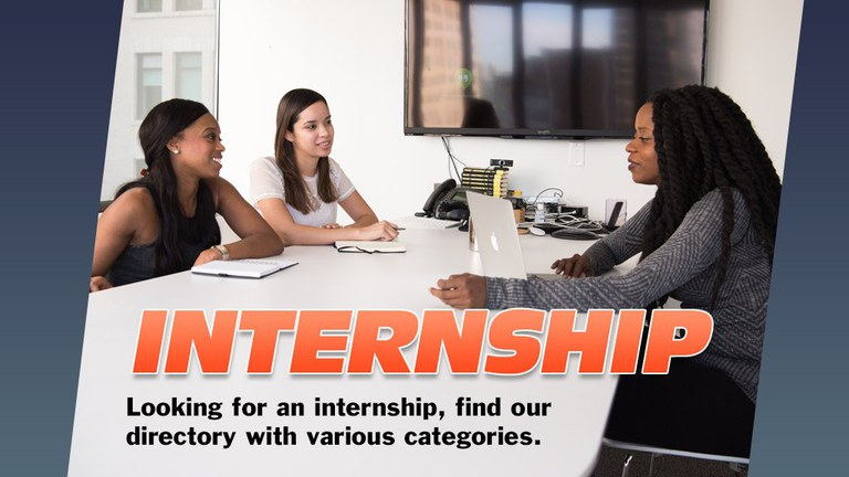 The Career Services Internship Directory was created to provide information on internship and job opportunities.