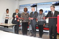 Flight Simulation Lab Ribbon Cutting Ceremony