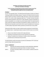 NYIT Governance document