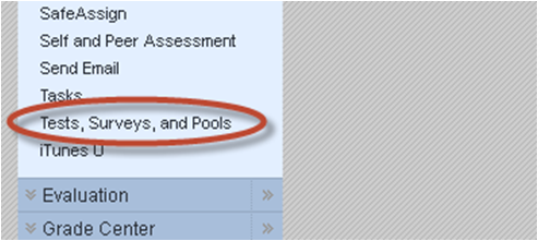 Click Tests, Surveys, and Pools