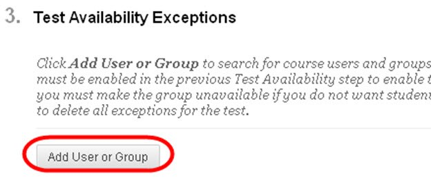 Click Test Available Exceptions