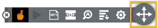 Click and Drag icon