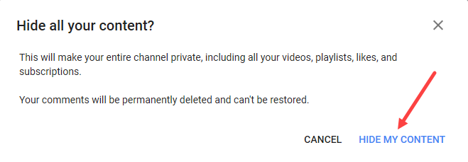 Hide My Channel (Part 3)