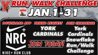 Cardinals Snowflake Run/Walk Challenge