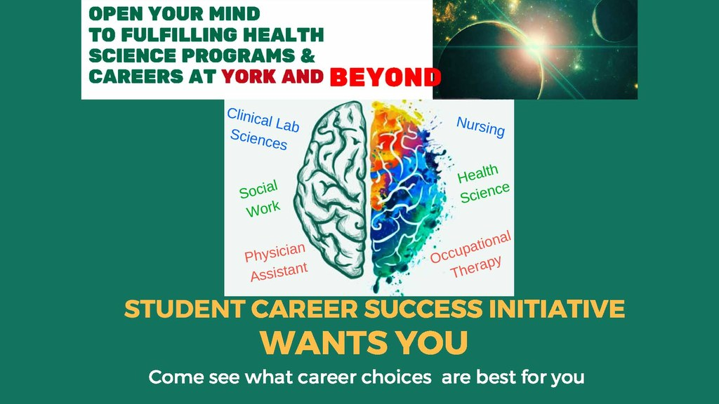 Career Success Initiative for the School of Health and Sciences.