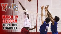 York College Men's Volleyball vs SUNY Purchase