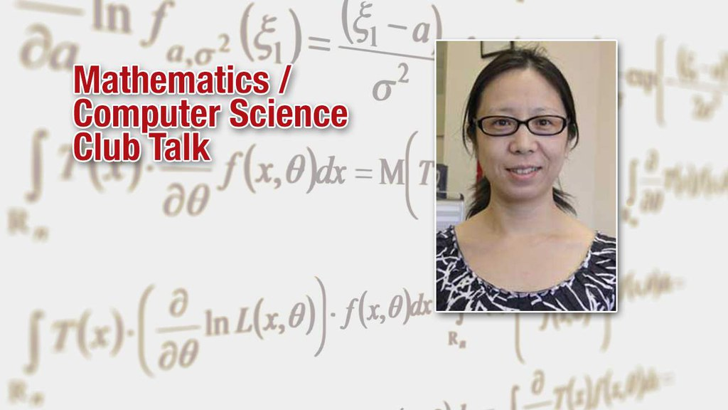 Join us for a math/cs club talk by Dr. Wang of the Department of Mathematics and Computer Science. The talk is about regression analysis.