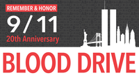 Blood Drive to Commemorate the 20th Anniversary of 911