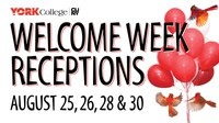 Welcome Back Reception - Weekend