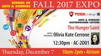 Arts and Science Fall 2017 Expo