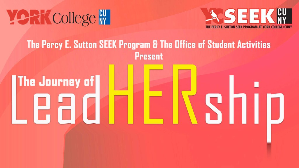 "The Journey of LeadHership, hosted by SEEK and Student Activities, will have a panel of distinguished women discussing their experiences ""breaking the glass ceiling: and their journey in leadership."