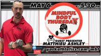 Mindful Body Thursday workout with Matthieu Ashley