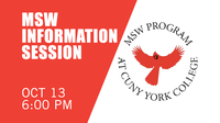 MSW Information Session - Wednesday