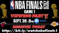 NBA Finals Game 1 Viewing Party