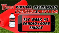 Recreation On-Demand Workout Program: Fly Week #1 Cardio & Core Friday