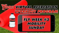 Recreation On-Demand Workout Program: Fly Week #3 Mobility Sunday