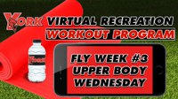 Recreation On-Demand Workout Program: Fly Week #3 Upper Body Wednesday
