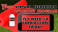 Recreation On-Demand Workout Program: Fly Week #4 Cardio & Core Friday