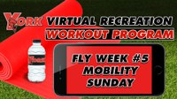 Recreation On-Demand Workout Program: Fly Week #5 Mobility Sunday