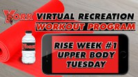 Recreation On-Demand Workout Program: Week #1 Upper Body Tuesday