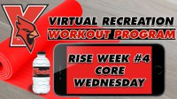 Recreation On-Demand Workout Program: Week #4 Core Wednesday