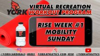 Rec On-Demand Workout: RISE Week #1 Mobility Sunday