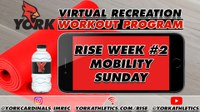 Rec On-Demand Workout: RISE Week #2 Mobility Sunday