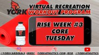 Recreation On-Demand Workout: RISE Week #3 Core Tuesday