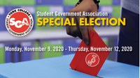 SGA Special Election