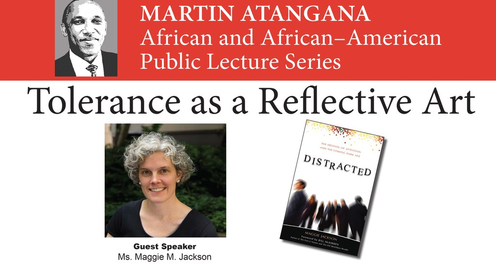 Martin Atangana African and African–AmericanPublic Lecture Series