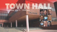 Town Hall Q&A with President Berenecea J. Eanes