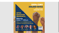 Voter Education Awareness: Featuring Members of the NY Congressional Delegation