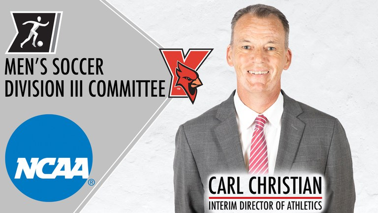 York College Interim Director of Athletics Carl Christian has been appointed to the NCAA Division III Men's Soccer Committee.
