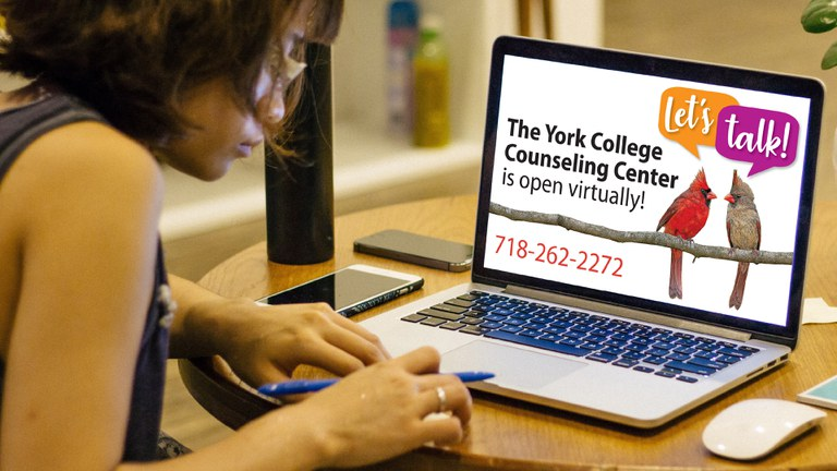 Counseling Center is open Virtually