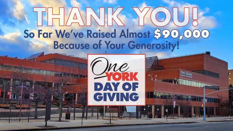 Thank You!, So far we've raised  $83,977 Because of your generosity