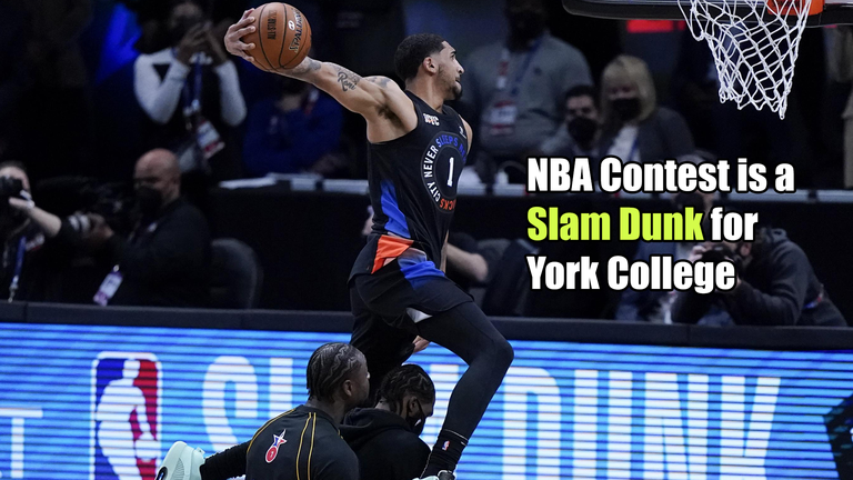 NBA Contest is a Slam Dunk for York College